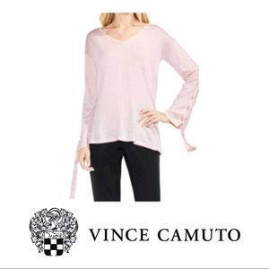 NEW Vince Camuto Lace-Up Bell Sleeve Sweater